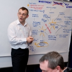 Craig Smith is an experienced graphic facilitator from Newcastle upon Tyne